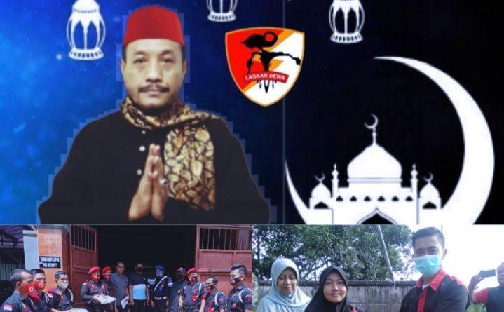 Sambut Bulan Suci Ramadhan, Ketum Laskar Dewa Bagikan 370 Paket Ramadhan Kepada Warga Dan Anggotanya